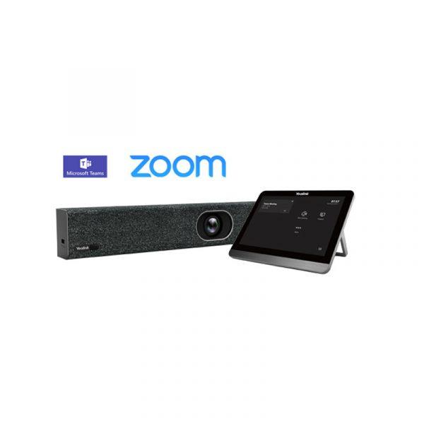 Bộ thiết bị hội nghị Yealink MeetingBar A20 và màn hình cảm ứng CTP18