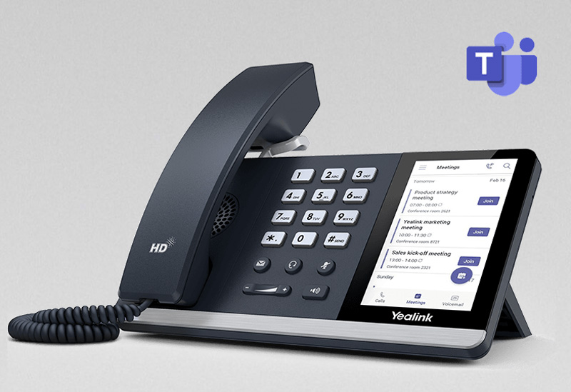 Điện thoại IP Yealink SIP-T55A MS Teams