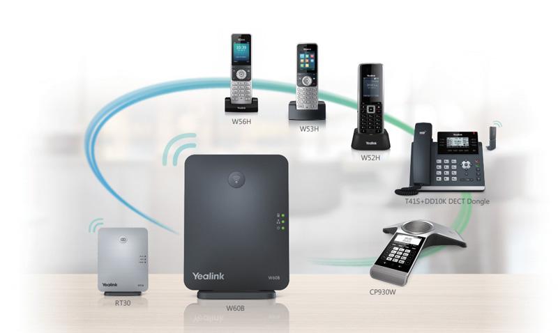 Điện thoại IP Yealink W53H